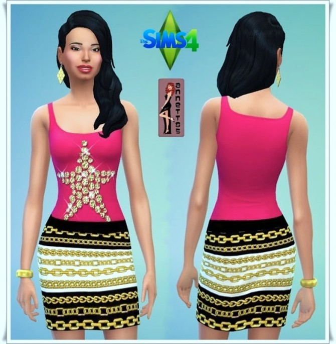Party Outfit 1 at Annett's Sims 4 Welt image 8926 Sims 4 Updates