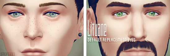 Lifuane default replacement eyes at Stefizzi image 901 Sims 4 Updates