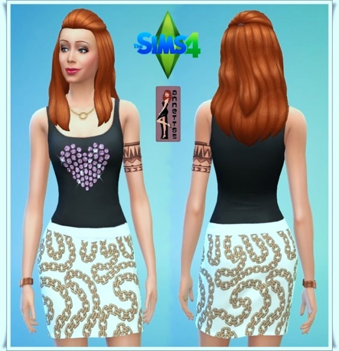 Party Outfit 1 at Annett's Sims 4 Welt image 9024 Sims 4 Updates