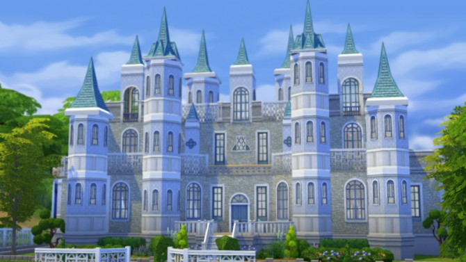 Cinderella Castle By Christine At Cc4sims 187 Sims 4 Updates
