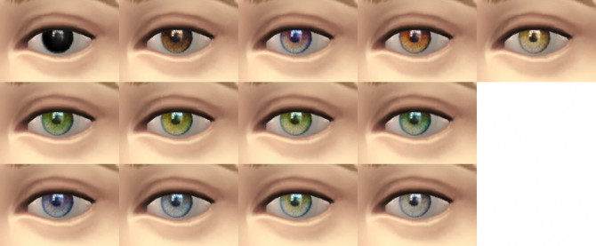 Lifuane default replacement eyes at Stefizzi image 912 Sims 4 Updates