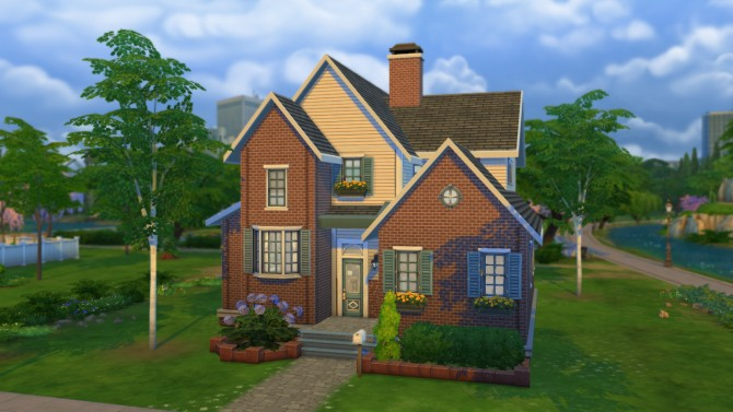Sims 4 Sherries Suburban house by Ruth Kay at Simply Ruthless