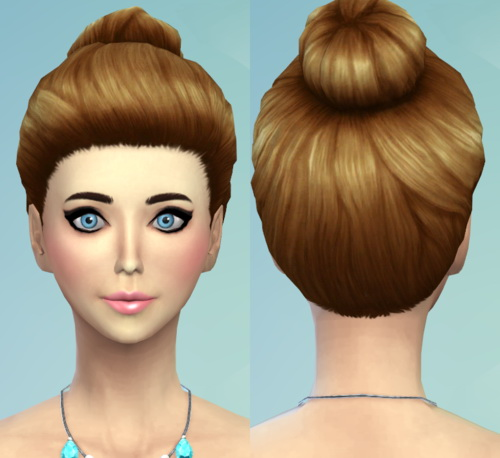22 Non default Hair Recolors at Darkiie Sims4 image 922 Sims 4 Updates