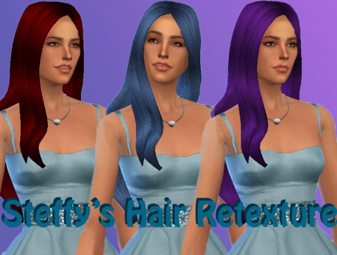 Sims 4 Steffys hair retexture at Simply Simming