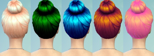 22 Non default Hair Recolors at Darkiie Sims4 image 953 Sims 4 Updates