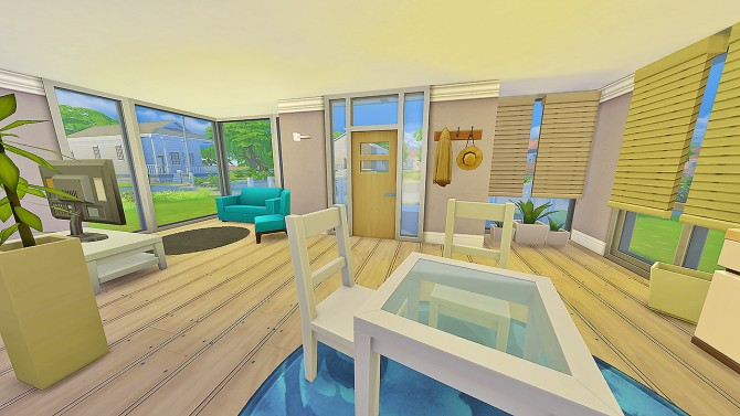 Sims 4 Intuo Starter Home at Simkea