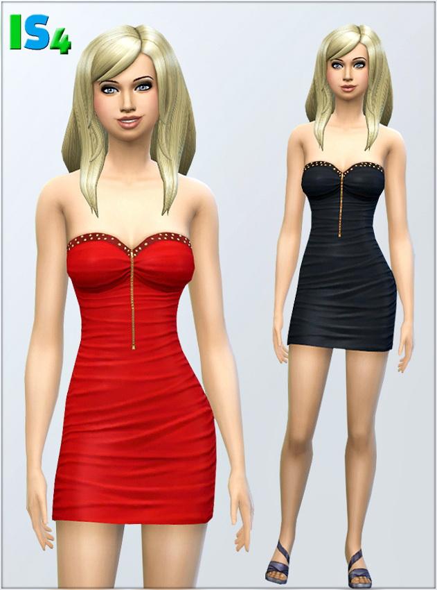 Sims 4 Dress 2 I by Irida at Irida Sims4