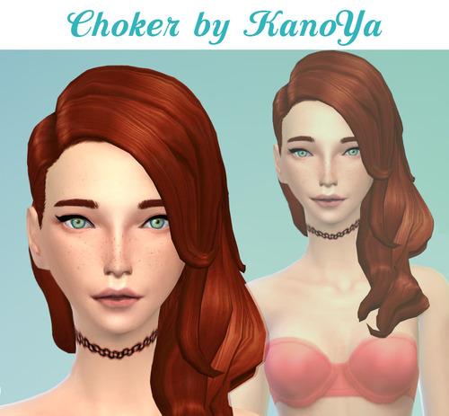 Choker at Kanoya Sims image 975 Sims 4 Updates