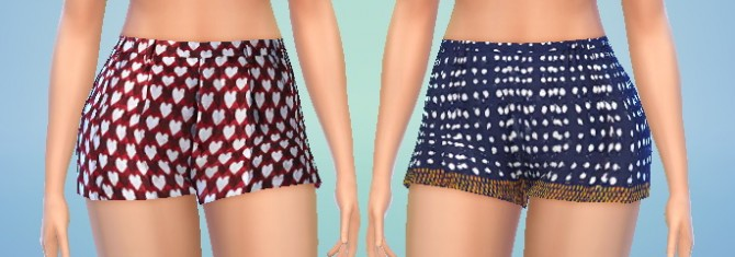 Sims 4 4 Shorts Pack at Puresims