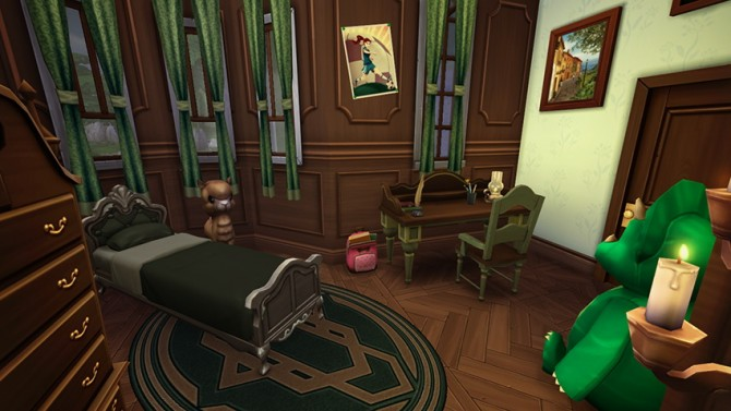 Sims 4 Le Château Blanc Part II at Simsontherope