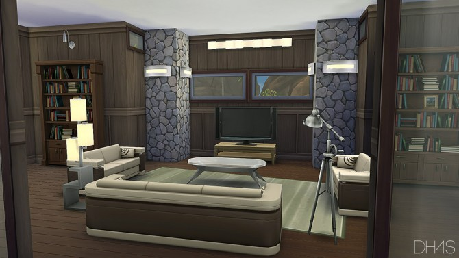 5025 Rocky Point Victoria house at DH4S image 9814 Sims 4 Updates