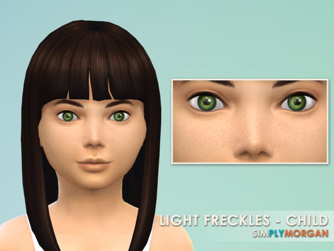 Light & Heavy Freckle Recolors at Simply Morgan image 9917 Sims 4 Updates