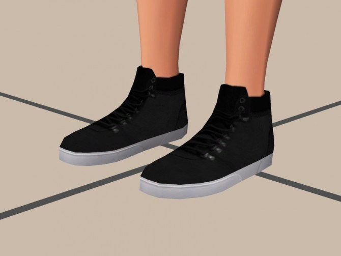 High Cut Shoes at The Young Enzo image 100110 Sims 4 Updates