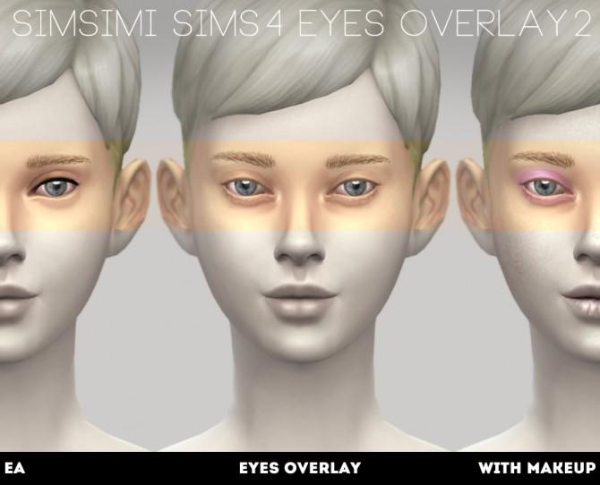 EYES OVERLAY 1/2 at Simsimi only mine image 1008 Sims 4 Updates