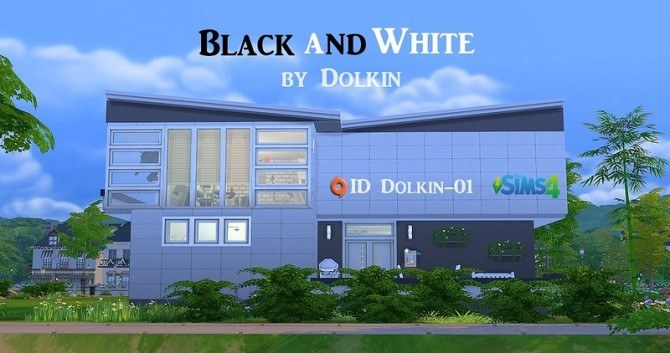 Black and White by Dolkin at ihelensims image 101101 Sims 4 Updates