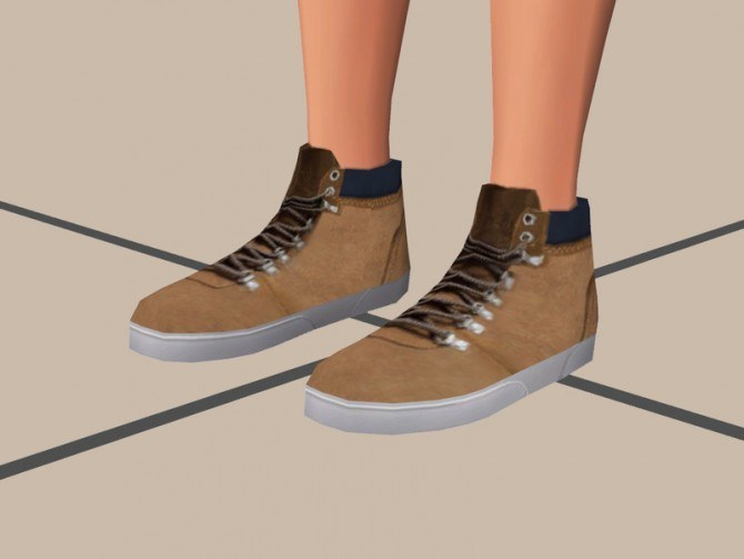 High Cut Shoes at The Young Enzo image 101110 Sims 4 Updates