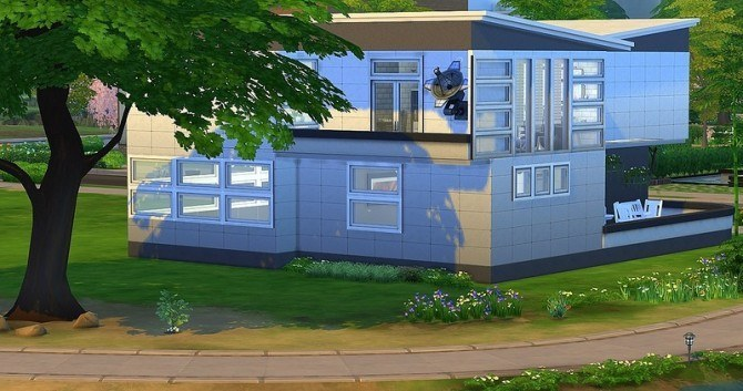Sims 4 Black and White by Dolkin at ihelensims