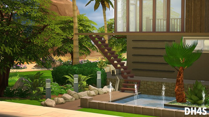 78 Osprey Street, San Diego house at DH4S image 10261 Sims 4 Updates