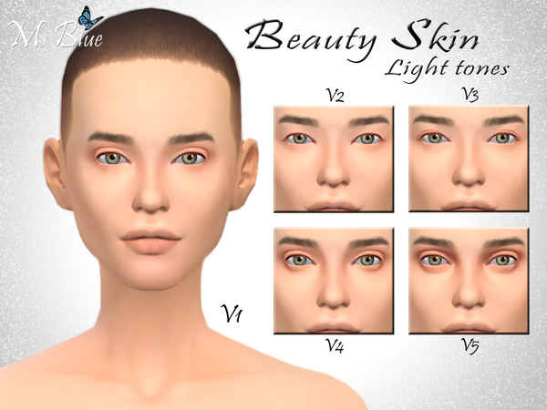 Beauty skin by Ms Blue at TSR image 10301 Sims 4 Updates