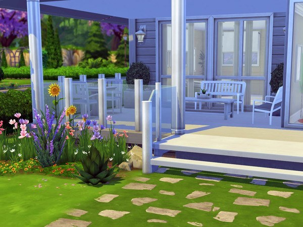 Sims 4 Capucine house by Guardgian at TSR