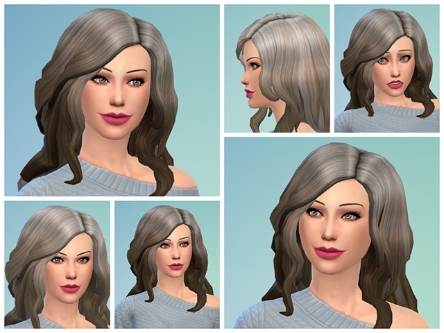 Sims 4 Belen Rodriguez version by Sim4fun at Sims Fans