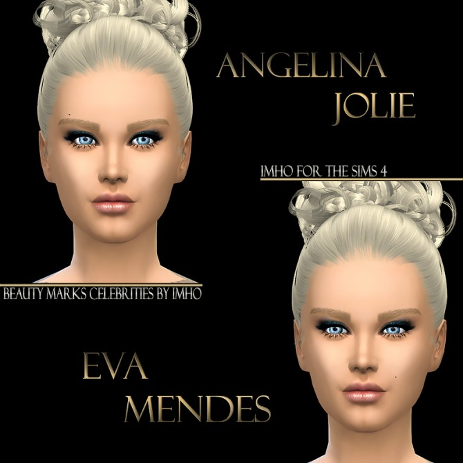 13 Beauty Marks Celebrities at IMHO Sims 4 image 1062 Sims 4 Updates