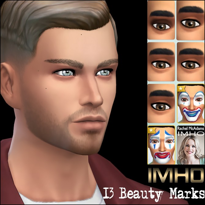 13 Beauty Marks Celebrities at IMHO Sims 4 image 1111 Sims 4 Updates