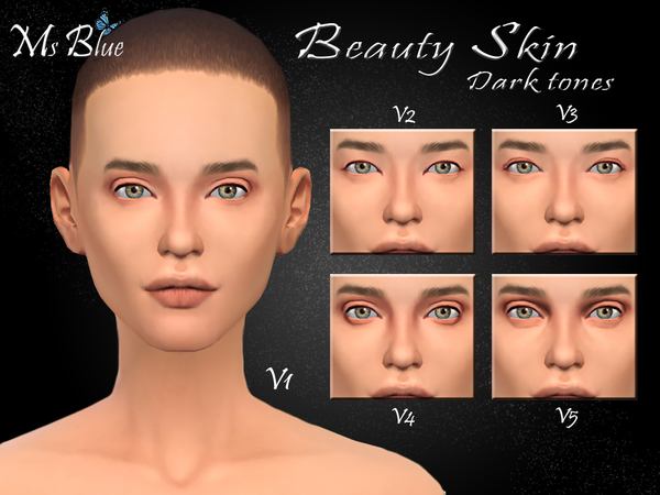 Beauty skin by Ms Blue at TSR image 11241 Sims 4 Updates