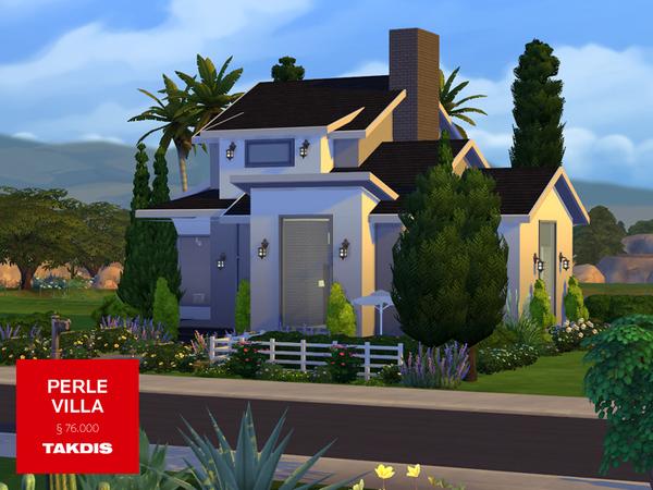 Sims 4 Perle Villa by Takdis at TSR