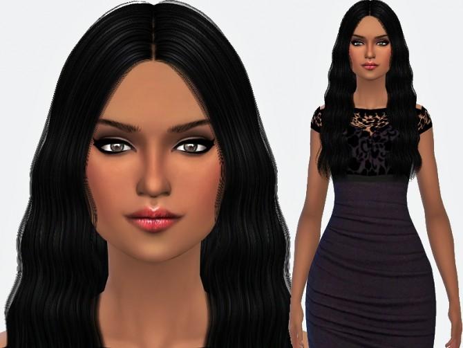 Sims 4 Micah Souza by Margie at Sims Addictions