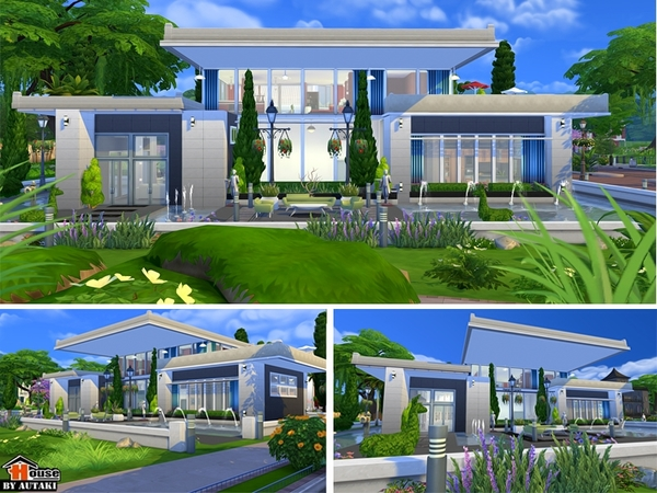 Sims 4 Home Design sims 4 house modern sk p google Sirintra Modern Design House By Autaki At Tsr Image 1137 Sims 4 Updates