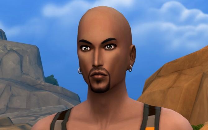 Sims 4 Jamil Yafi by Rany Randolff at ihelensims