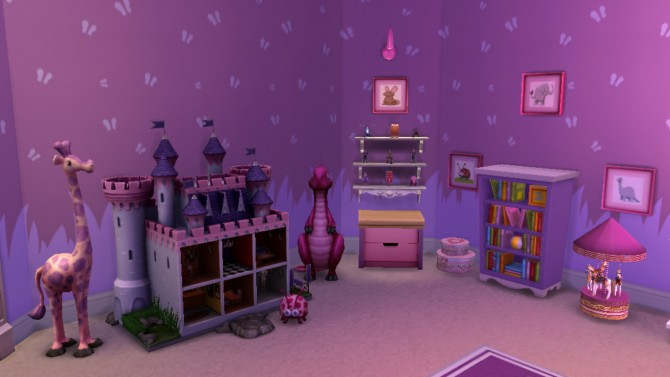 Little princess bedroom at sanjana sims sims 4 updates for Little princess room