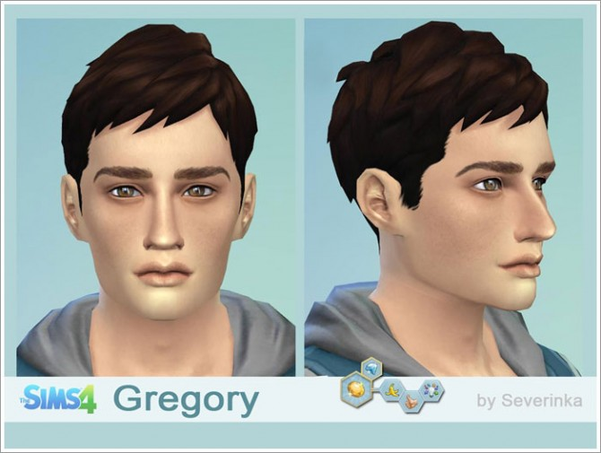 Gregory Wright at Sims by Severinka image 1181 Sims 4 Updates