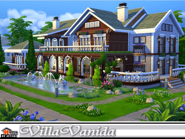Villa Vanida by autaki at TSR image 1213 Sims 4 Updates