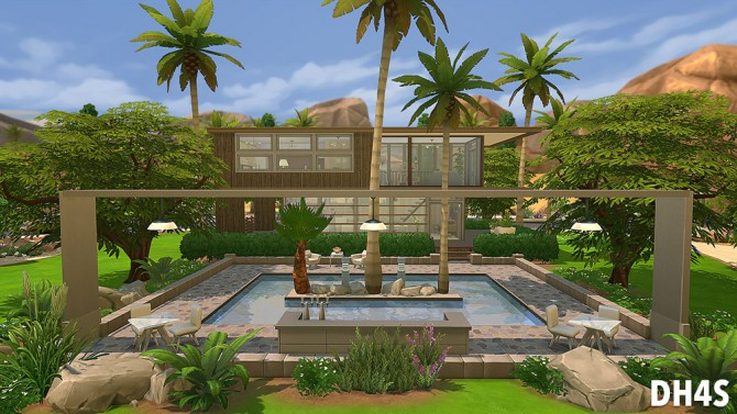 78 Osprey Street, San Diego house at DH4S image 12141 Sims 4 Updates