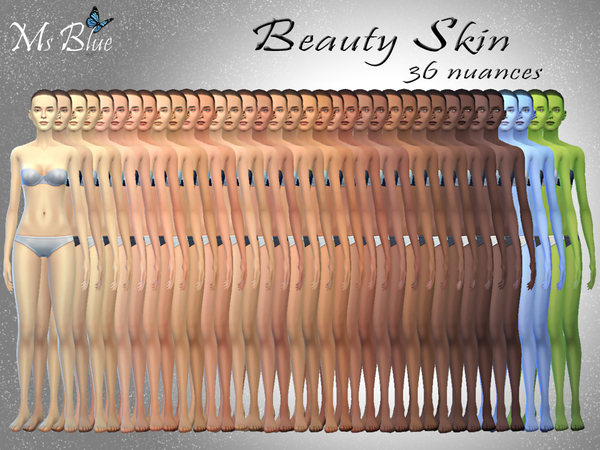 Beauty skin by Ms Blue at TSR image 12181 Sims 4 Updates