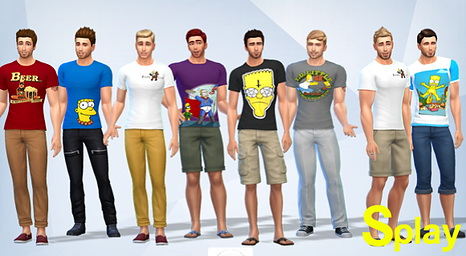 X Simpson clothes at Splay image 12213 Sims 4 Updates
