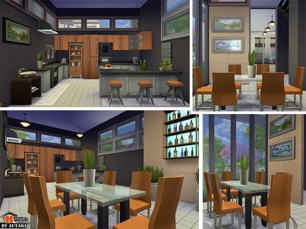 Sirintra Modern Design house by autaki at TSR image 1236 Sims 4 Updates