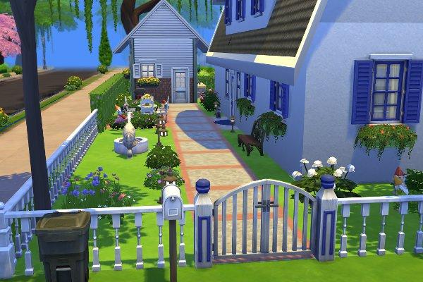 Sims 4 Reethaus by petra0203 at Blacky's Sims Zoo