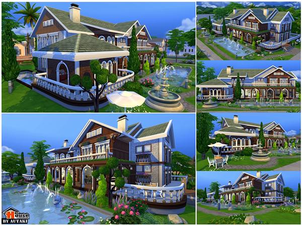Villa Vanida by autaki at TSR image 1310 Sims 4 Updates