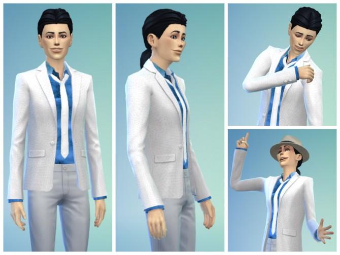 Long dress sims 4 lookbook