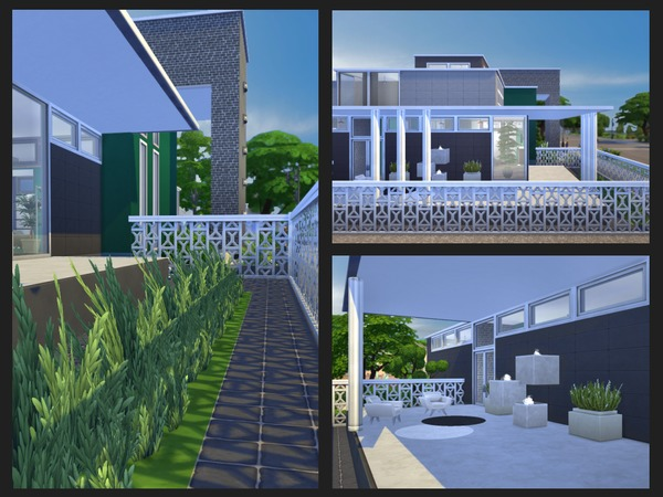 Sims 4 Emerald Isle house by chemy at TSR