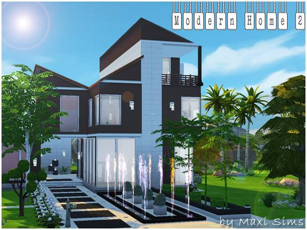 Modern Home 2 by Maxi Sims at Akisima image 1372 Sims 4 Updates