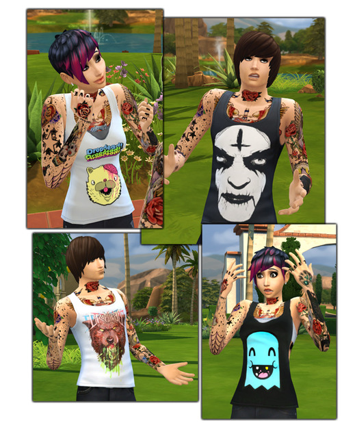 Sims 4 Dropdead Clothes at Gefa Sims