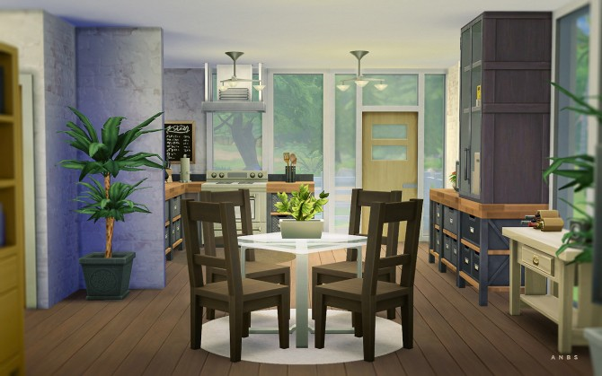 SIMPLE MODERN STARTER at Alachie Brick Sims Sims 4 Updates