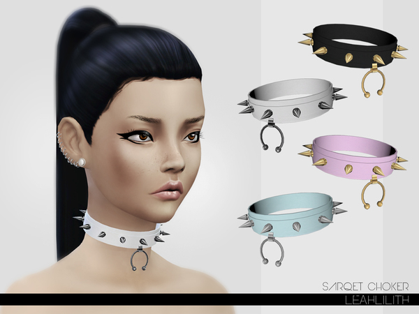 Sarqet Choker by LeahLillith at TSR image 14131 Sims 4 Updates
