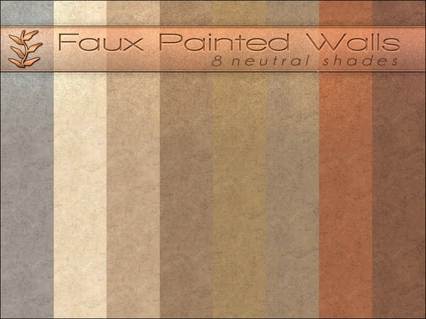Faux Painted Walls by Playful at TSR image 14161 Sims 4 Updates