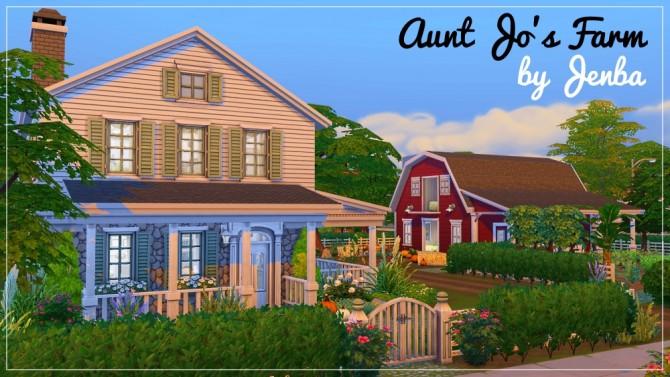 Aunt Jo's Farm at Jenba Sims image 14181 Sims 4 Updates