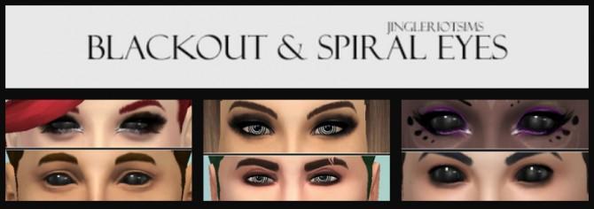 Blackout & Spiral Eyes at Jingleriot's Sims image 1431 Sims 4 Updates